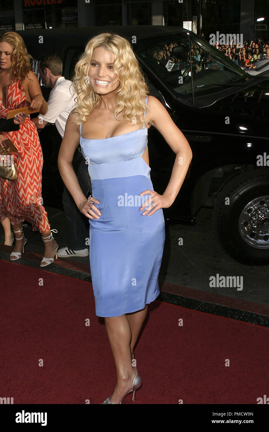 'The Dukes of Hazzard' (Premiere) Jessica Simpson 07-29-2005 / Grauman's Chinese Theatre / Hollywood, CA Photo by Joseph Martinez / PictureLux   File Reference # 22452_0099PLX  For Editorial Use Only -  All Rights Reserved - Stock Image