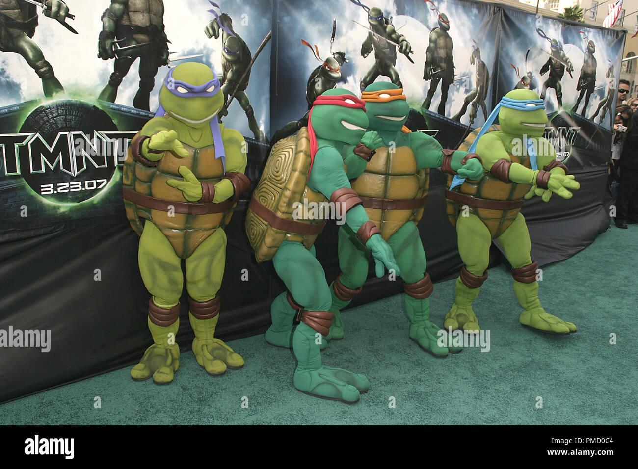 Teenage Mutant Ninja Turtles High Resolution Stock Photography And
