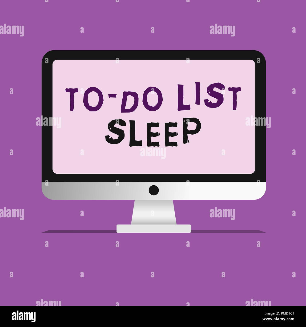 handwriting text writing to do list sleep concept meaning things to