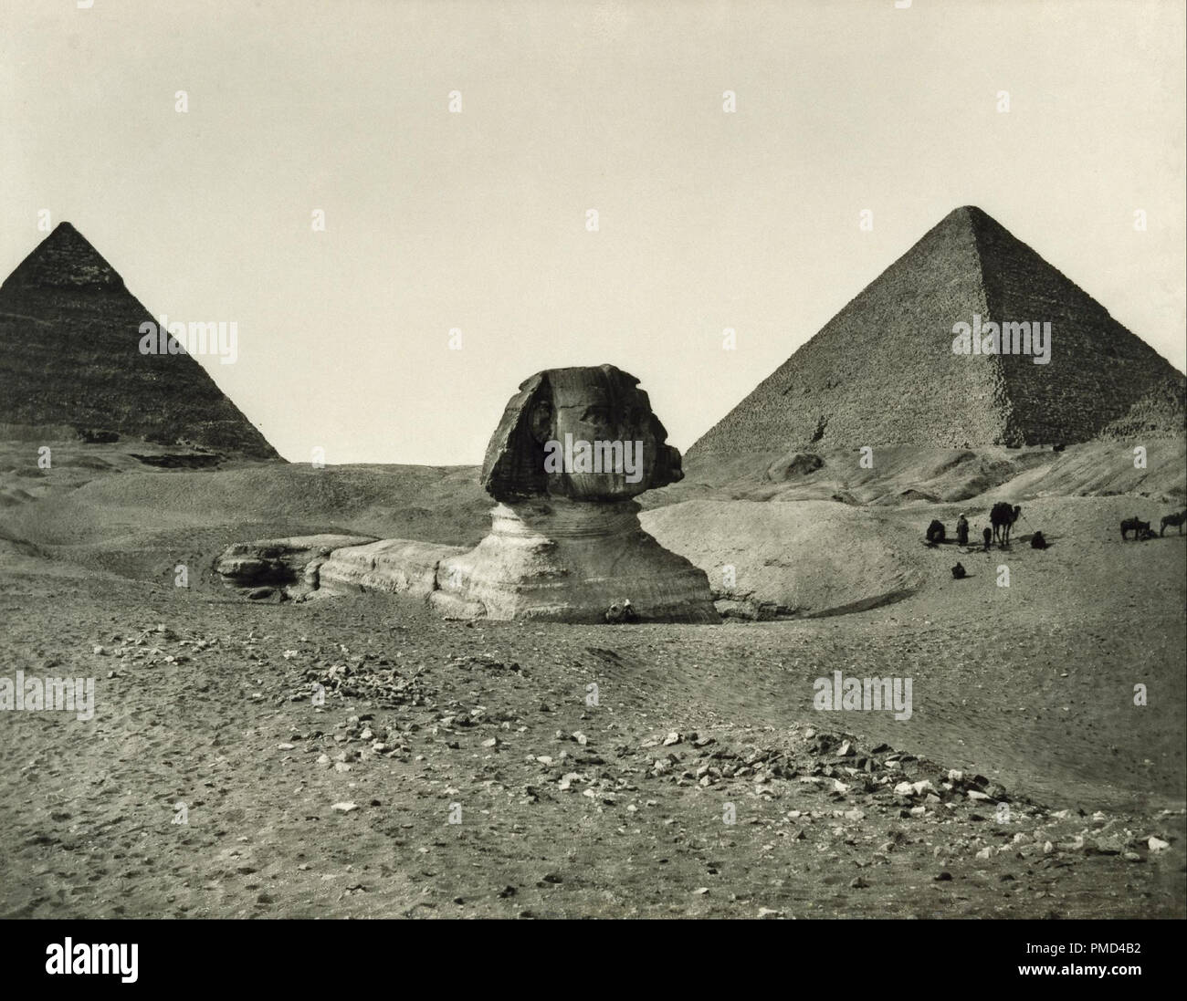 The pyramids are still some of the largest man-made structures ever built...