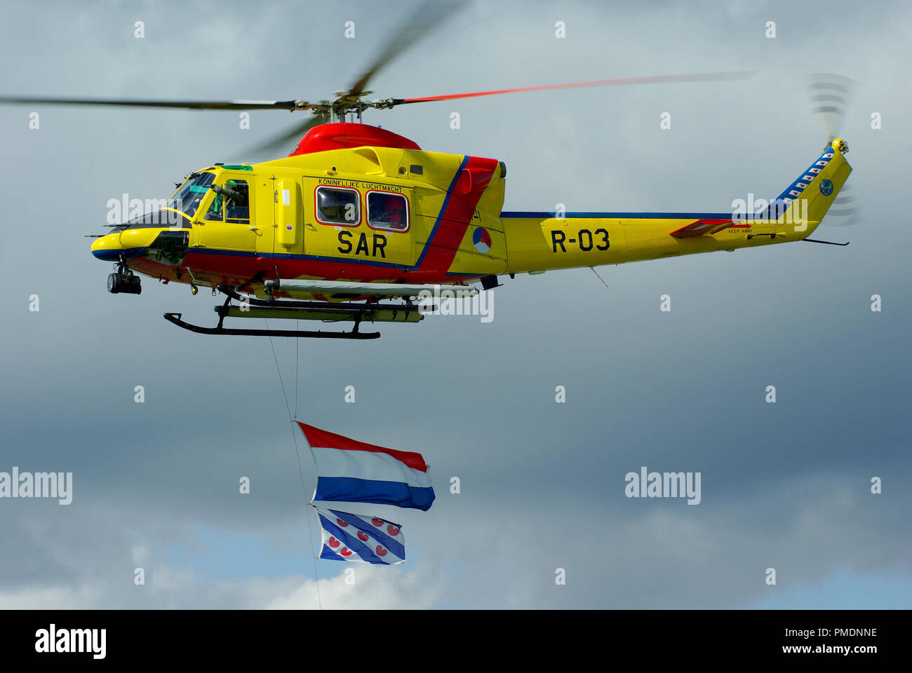 Royal Netherlands Air Force SAR Search and Rescue helicopter  303