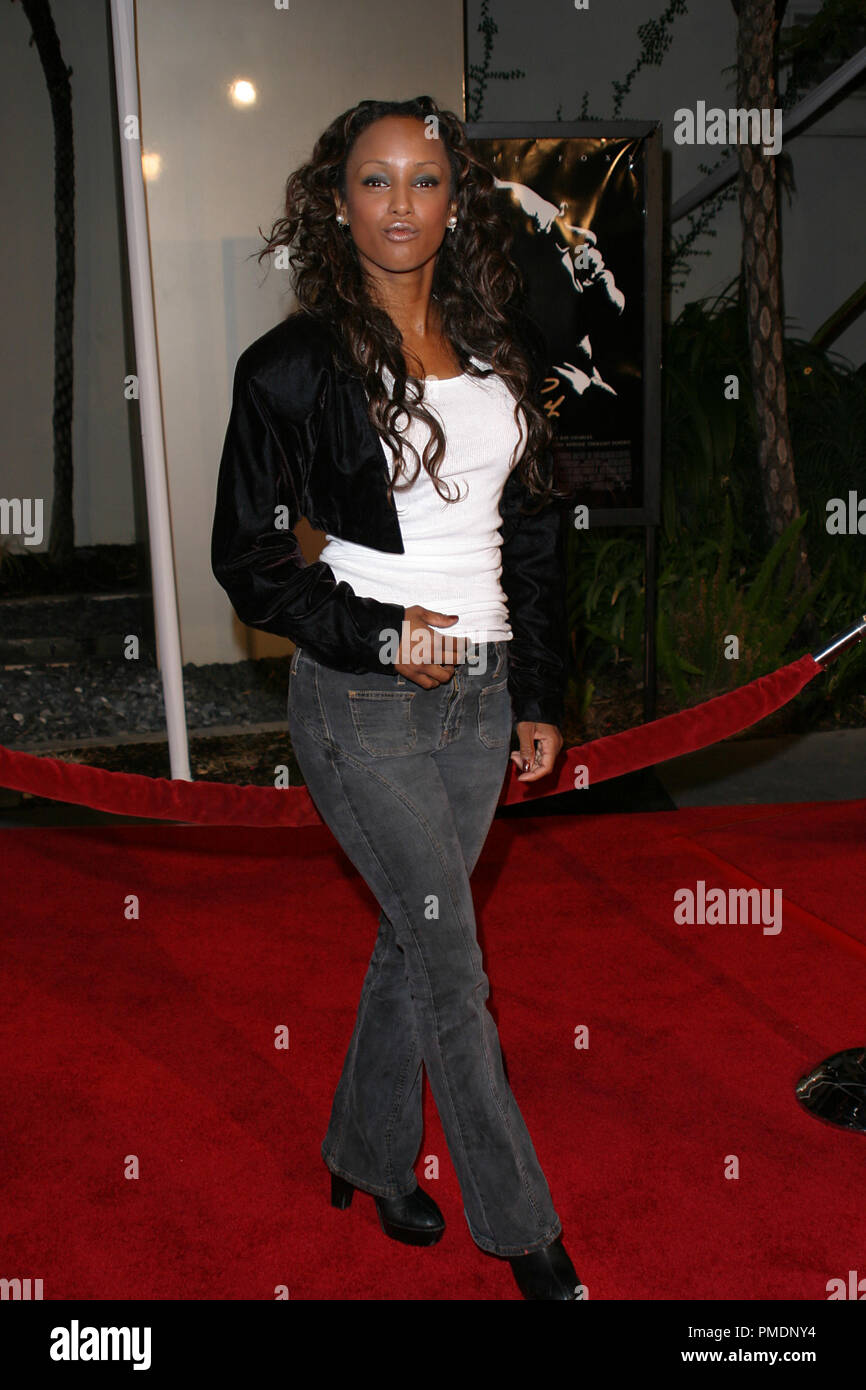 Ray Premiere Trina Mc Gee October 19, 2004 Photo by Joseph Martinez - All Rights Reserved  File Reference # 21986_0024PLX  For Editorial Use Only - - Stock Image