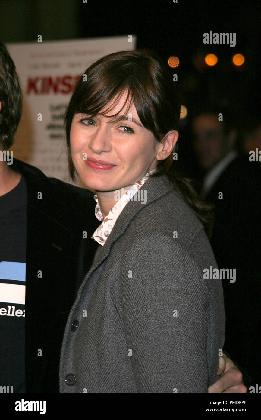 'Kinsey' Premiere 11-08-2004 Emily Mortimer Photo by Joseph Martinez - All Rights Reserved  File Reference # 21992_0100PLX  For Editorial Use Only -  All Rights Reserved - Stock Image