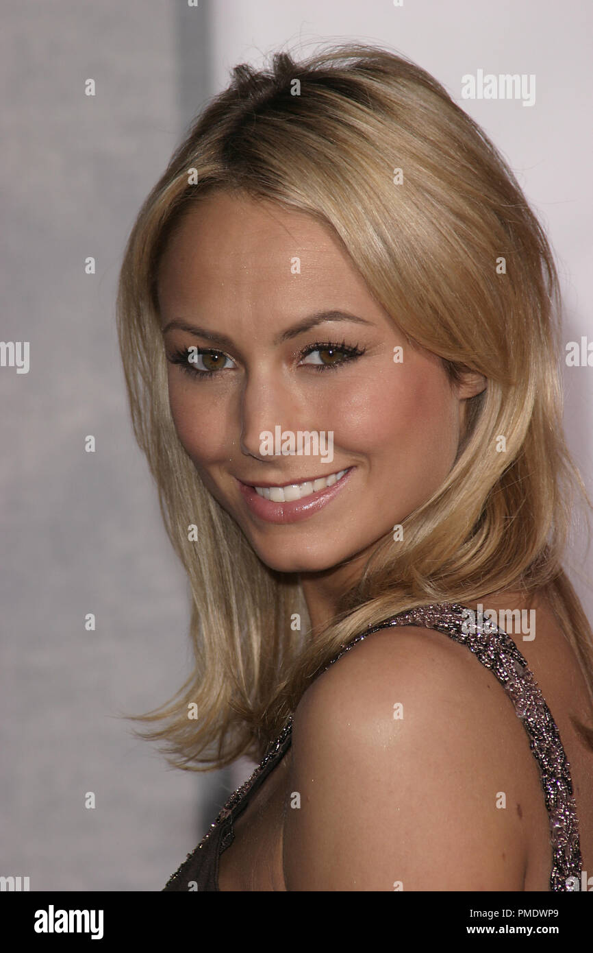 """""""The Shaggy Dog"""" (Premiere) Stacy Keibler 03-07-2006 / El Capitan Theater / Hollywood, CA / Walt Disney Pictures / Photo by Joseph Martinez - All Rights Reserved  File Reference # 22702 0020PLX  For Editorial Use Only - Stock Photo"""