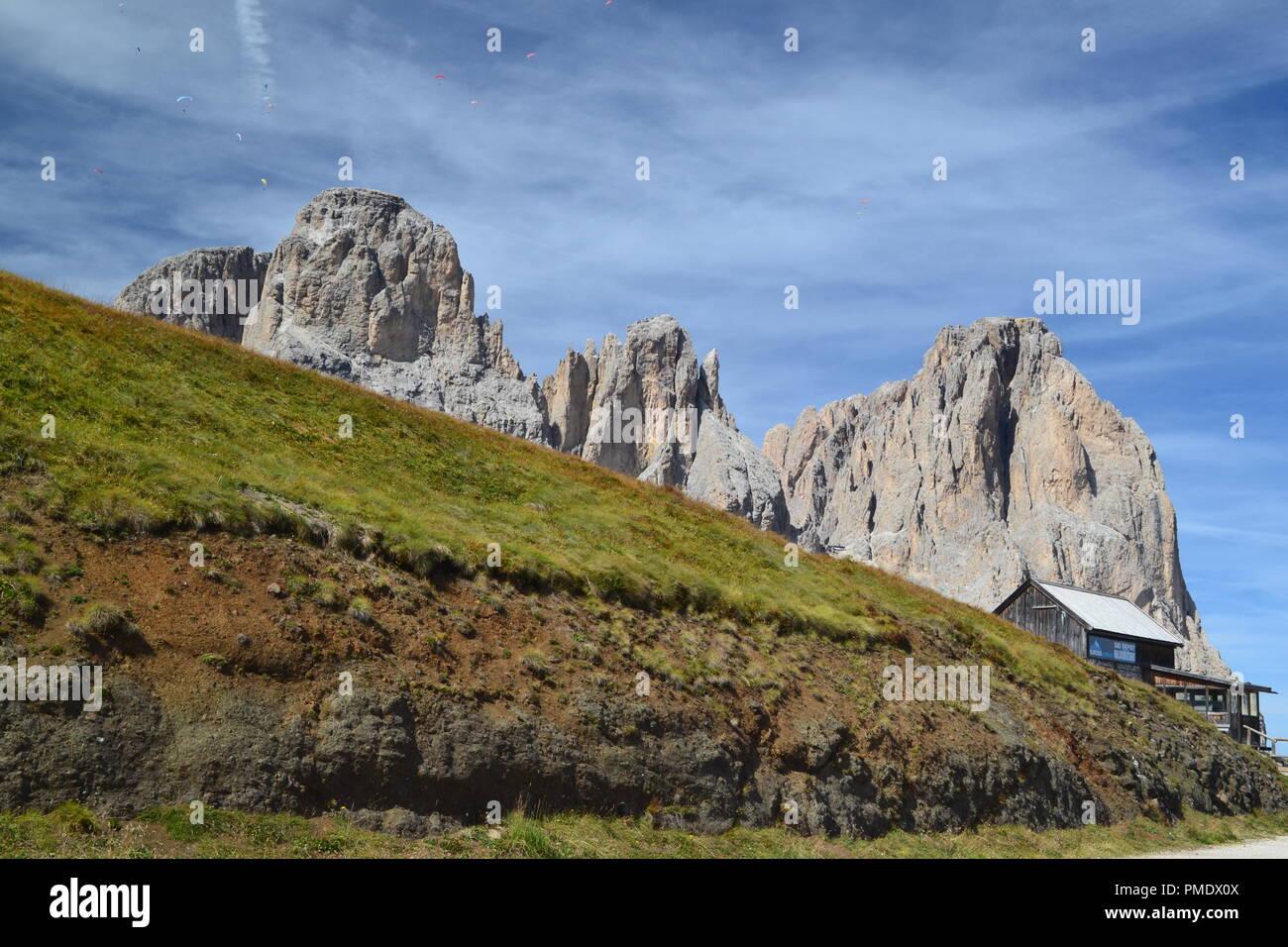 Dolomiti in Col Rodella - Stock Image