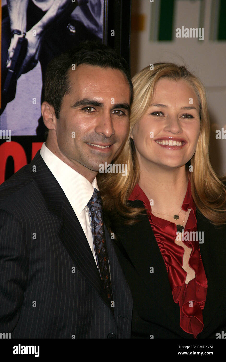 Smokin' Aces (Premiere) Nestor Carbonell, Shannon Kenny 1-18-2007 / Grauman's Chinese Theater / Hollywood, CA / Universal Pictures / Photo by Joseph Martinez - All Rights Reserved  File Reference # 22905_0004PLX  For Editorial Use Only - - Stock Image