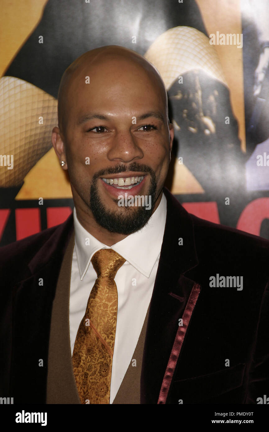'Smokin' Aces' (Premiere) Common 1-18-2007 / Grauman's Chinese Theater / Hollywood, CA / Universal Pictures / Photo by Joseph Martinez - All Rights Reserved  File Reference # 22905_0028PLX  For Editorial Use Only - - Stock Image