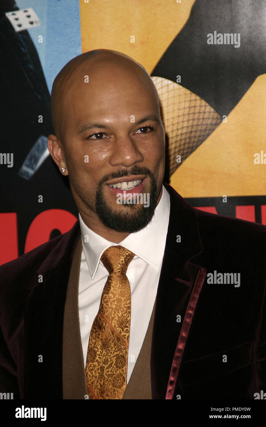 'Smokin' Aces' (Premiere) Common 1-18-2007 / Grauman's Chinese Theater / Hollywood, CA / Universal Pictures / Photo by Joseph Martinez - All Rights Reserved  File Reference # 22905_0029PLX  For Editorial Use Only - - Stock Image