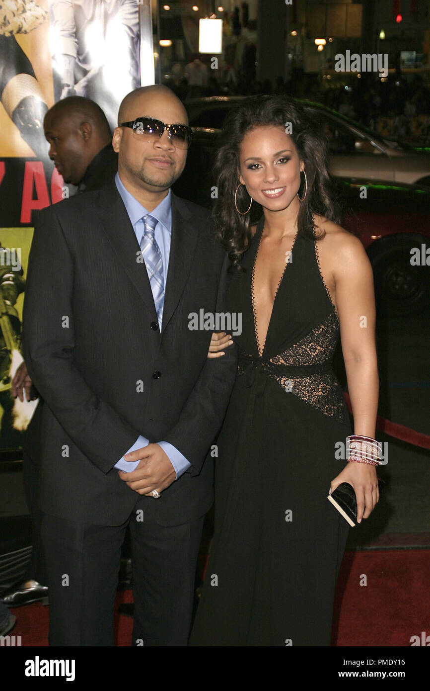 'Smokin' Aces' (Premiere) Kerry Brothers, Alicia Keys 1-18-2007 / Grauman's Chinese Theater / Hollywood, CA / Universal Pictures / Photo by Joseph Martinez - All Rights Reserved  File Reference # 22905_0037PLX  For Editorial Use Only - - Stock Image