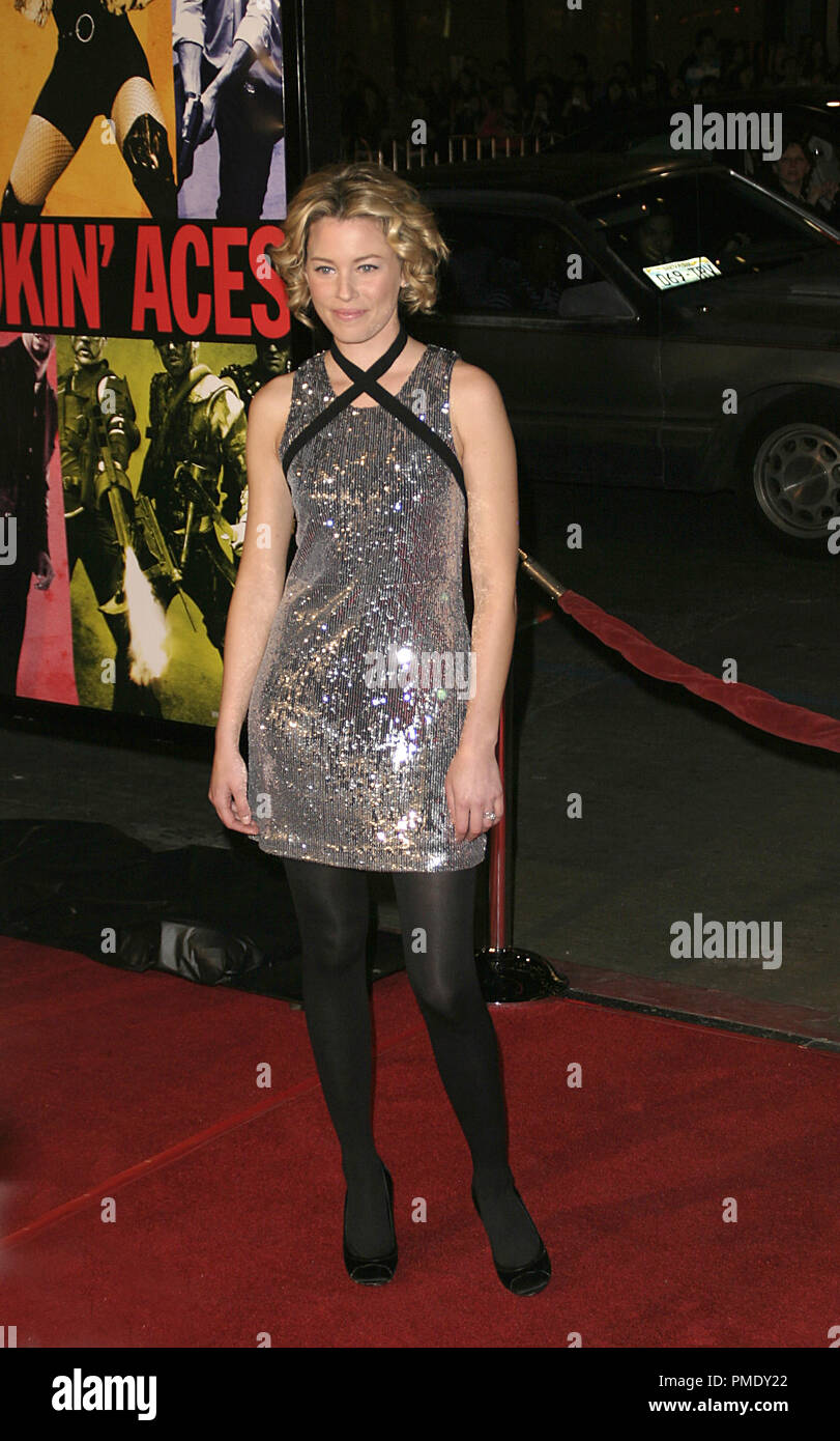 'Smokin' Aces' (Premiere) Elizabeth Banks 1-18-2007 / Grauman's Chinese Theater / Hollywood, CA / Universal Pictures / Photo by Joseph Martinez - All Rights Reserved  File Reference # 22905_0055PLX  For Editorial Use Only - - Stock Image