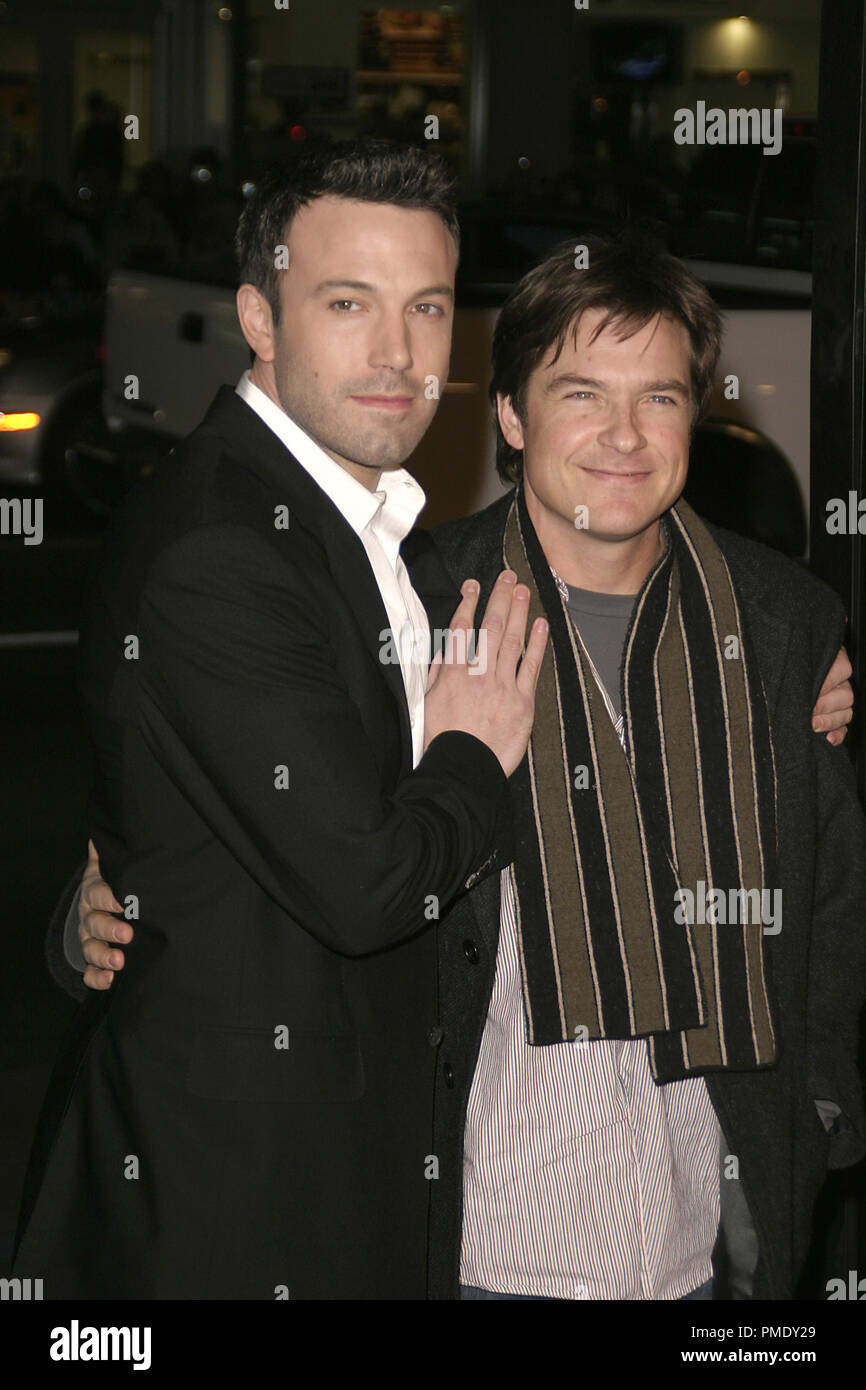 'Smokin' Aces' (Premiere) Ben Affleck, Jason Bateman 1-18-2007 / Grauman's Chinese Theater / Hollywood, CA / Universal Pictures / Photo by Joseph Martinez - All Rights Reserved  File Reference # 22905_0061PLX  For Editorial Use Only - - Stock Image
