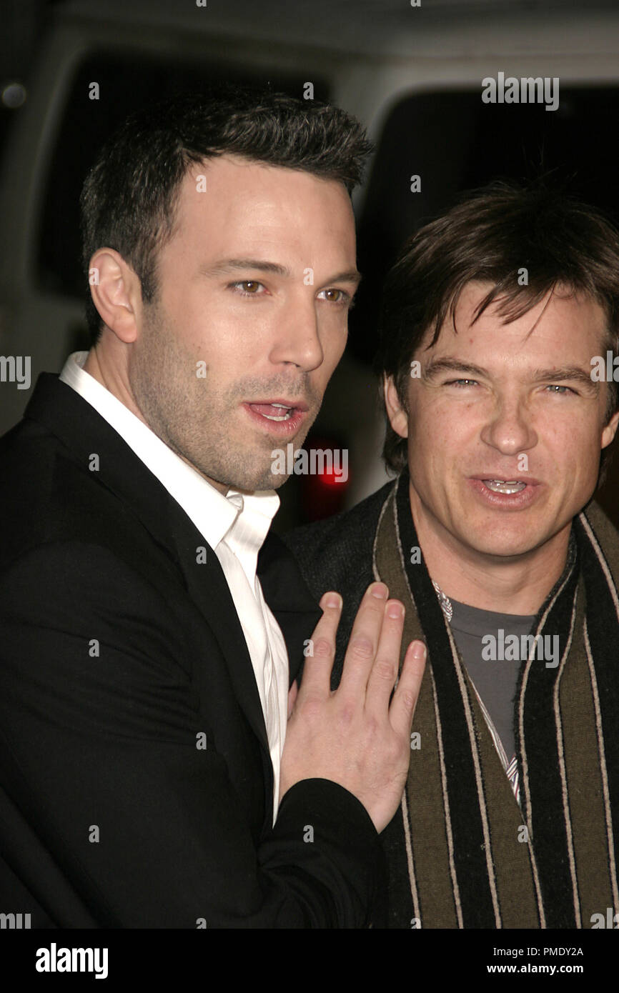 Smokin' Aces (Premiere) Ben Affleck, Jason Bateman 1-18-2007 / Grauman's Chinese Theater / Hollywood, CA / Universal Pictures / Photo by Joseph Martinez - All Rights Reserved  File Reference # 22905_0062PLX  For Editorial Use Only - - Stock Image