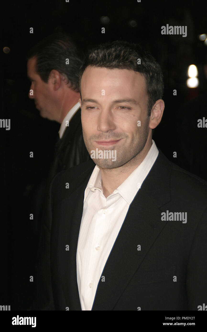 'Smokin' Aces' (Premiere) Ben Affleck 1-18-2007 / Grauman's Chinese Theater / Hollywood, CA / Universal Pictures / Photo by Joseph Martinez - All Rights Reserved  File Reference # 22905_0071PLX  For Editorial Use Only - - Stock Image