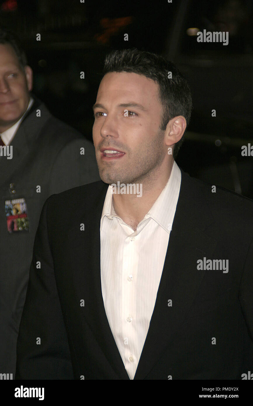 Smokin' Aces (Premiere) Ben Affleck 1-18-2007 / Grauman's Chinese Theater / Hollywood, CA / Universal Pictures / Photo by Joseph Martinez - All Rights Reserved  File Reference # 22905_0073PLX  For Editorial Use Only - - Stock Image