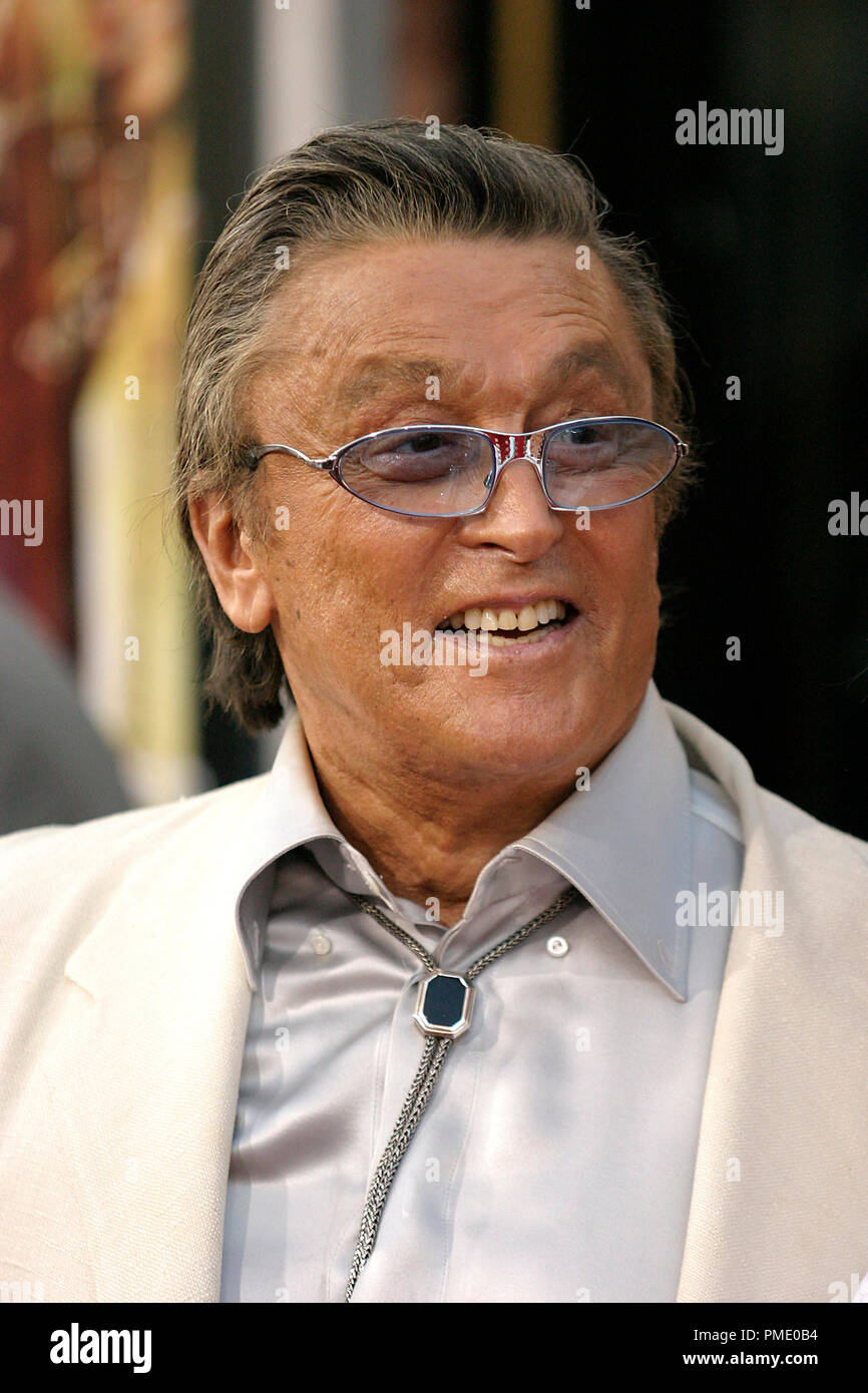 Rush Hour 3 (Premiere)  Robert Evans  7-30-2007 / Mann's Chinese Theater / Hollywood, CA / New Line Cinema / © Joseph Martinez/Picturelux - All Rights Reserved  File Reference # 23135_0078PLX   For Editorial Use Only -  All Rights Reserved - Stock Image