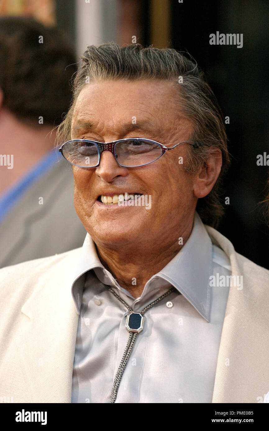 'Rush Hour 3' (Premiere)  Robert Evans  7-30-2007 / Mann's Chinese Theater / Hollywood, CA / New Line Cinema / © Joseph Martinez/Picturelux - All Rights Reserved  File Reference # 23135_0079PLX   For Editorial Use Only -  All Rights Reserved - Stock Image