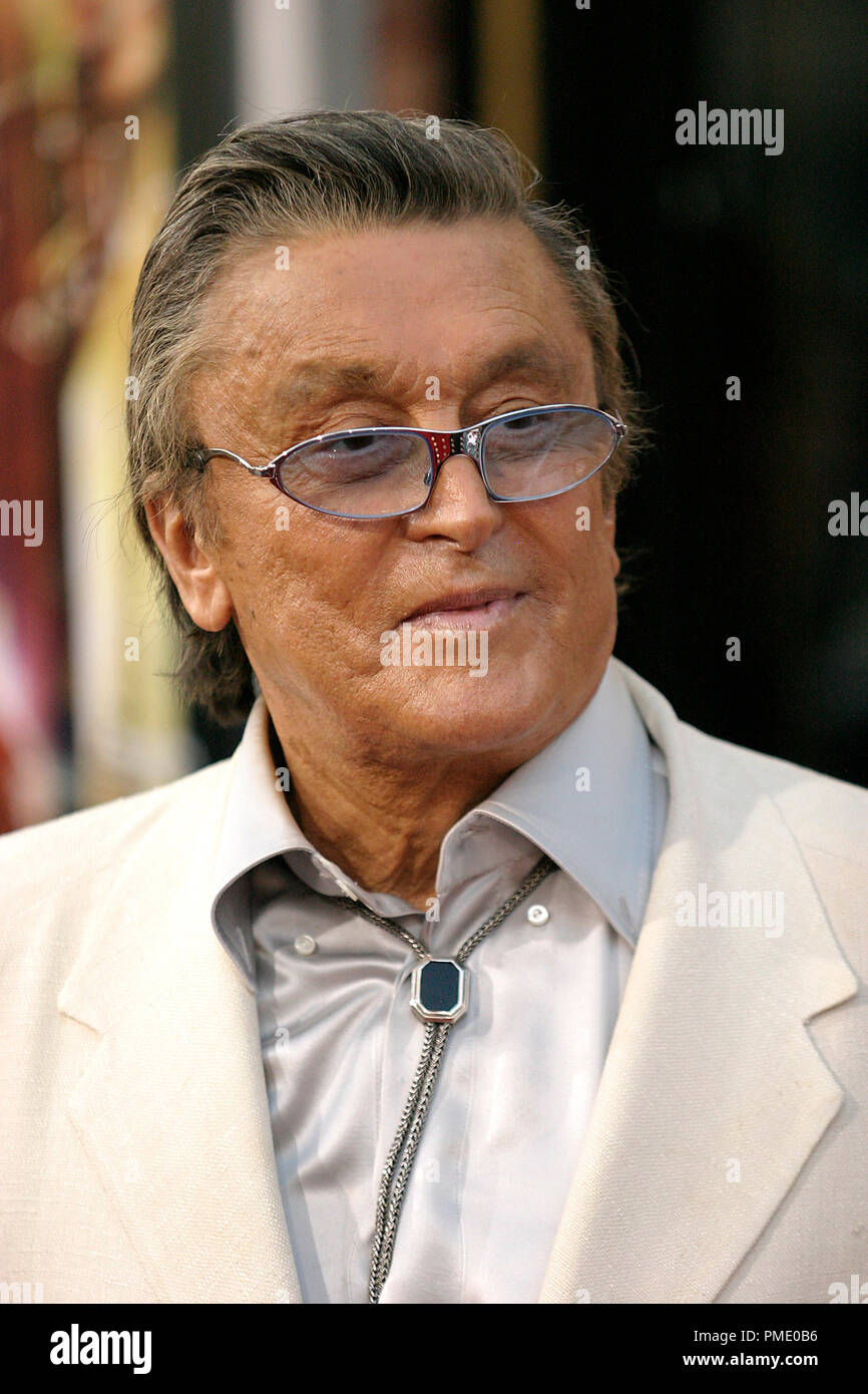 'Rush Hour 3' (Premiere)  Robert Evans  7-30-2007 / Mann's Chinese Theater / Hollywood, CA / New Line Cinema / © Joseph Martinez/Picturelux - All Rights Reserved  File Reference # 23135_0080PLX   For Editorial Use Only -  All Rights Reserved - Stock Image