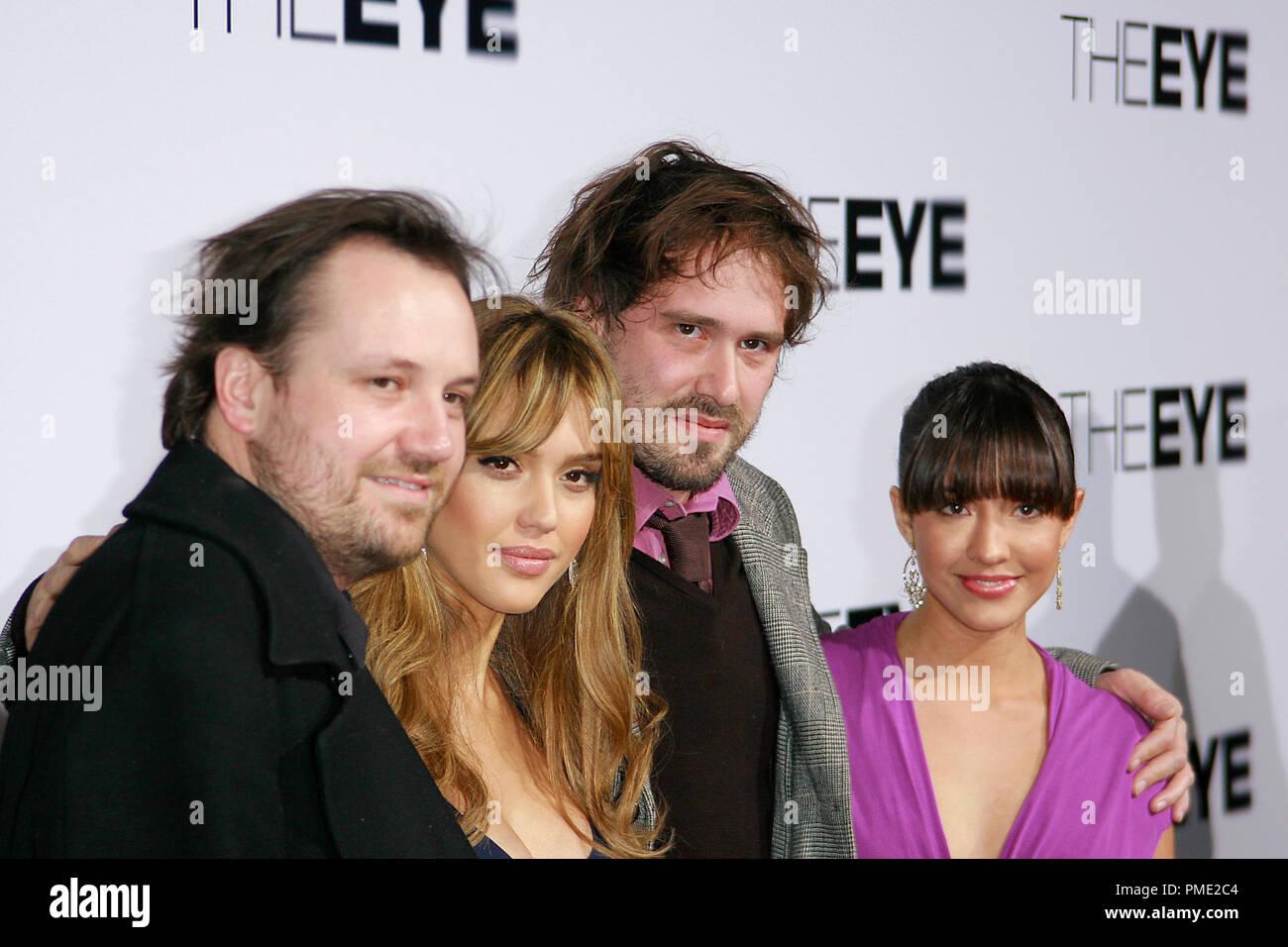 a670167e8443 The Eye Premiere Director David Moreau, Jessica Alba and Director Xavier  Palud, Fernanda Romera