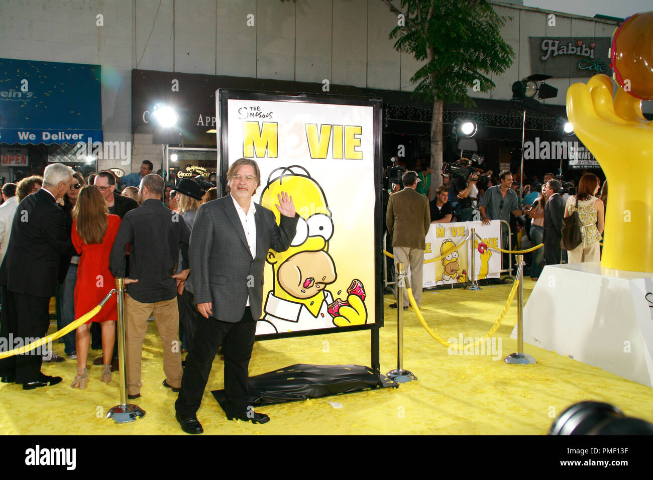 The Simpsons Movie Premiere Matt Groening 7 24 2007 Mann Bruin And Mann Village Theatre Westwood Ca 20th Century Fox Photo By Joseph Martinez File Reference 23133 0044jm For Editorial Use Only Stock Photo Alamy