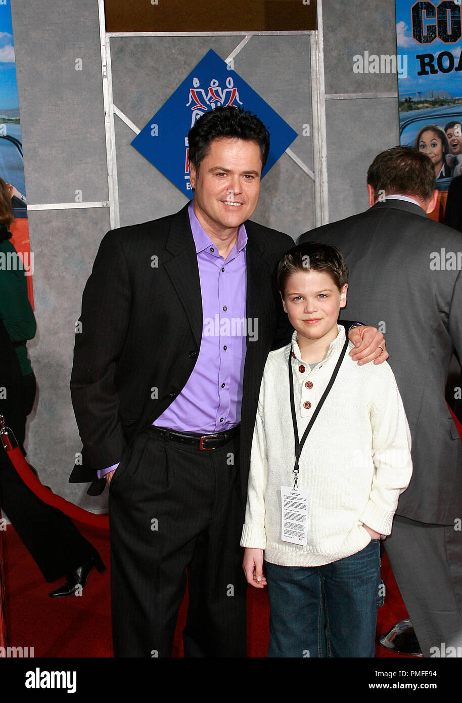 Donny Osmond Son Joshua Premiere High Resolution Stock Photography And Images Alamy