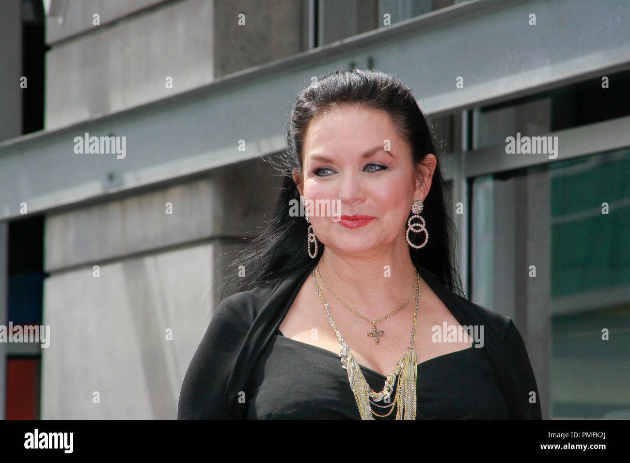 Crystal Gayle at the Hollywood Chamber of Commerce ceremony to honor her with the 2,390th Star on the Hollywood Walk of Fame on Vine Street near Sunset Boulevard in Hollywood, CA, October 2, 2009. Photo by Picturelux File Reference # 30082_08PLX   For Editorial Use Only -  All Rights Reserved - Stock Image