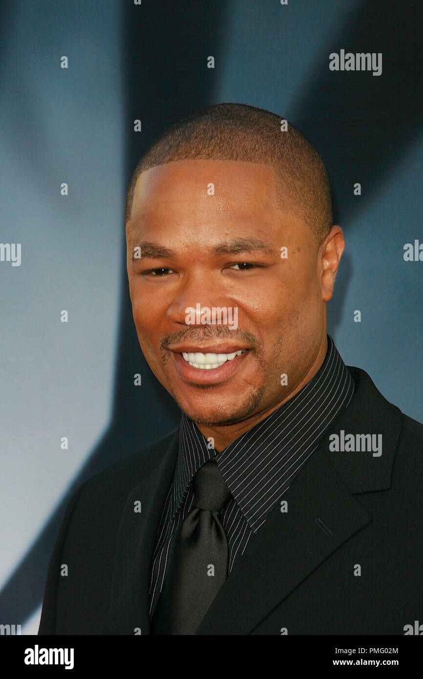 The X-Files: I Want to Believe Premiere  Xzibit  7-23-2008 / Mann's Grauman Chinese Theatre / Hollywood, CA / 20th Century Fox / Photo © Joseph Martinez / Picturelux  File Reference # 23571_0045JM   For Editorial Use Only -  All Rights Reserved - Stock Image