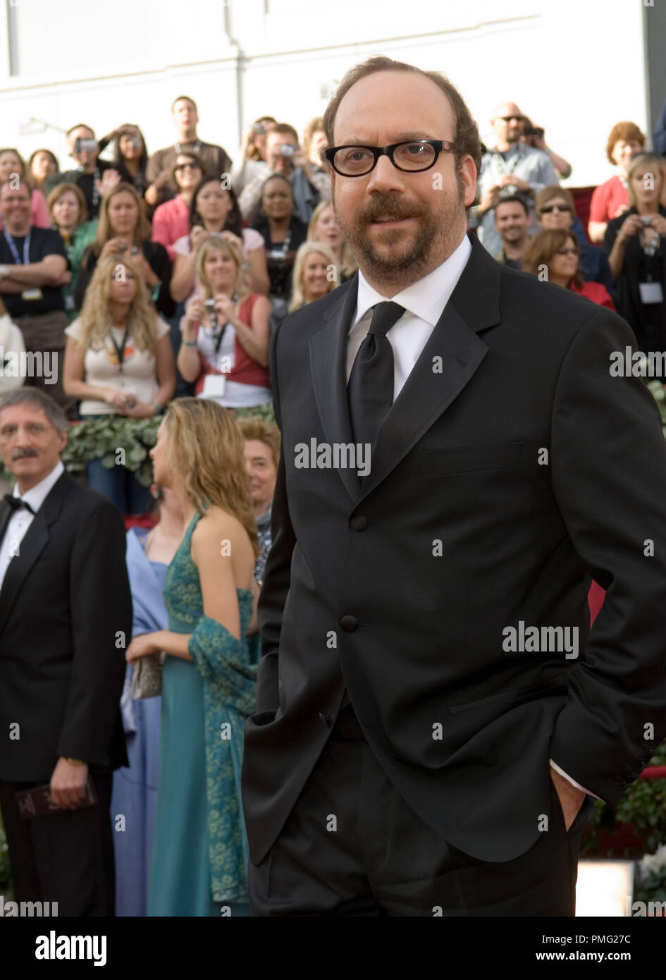 The Academy of Motion Picture Arts and Sciences Presents 'The 78th Annual Academy Awards'  Paul Giamatti 03-05-2006  © 2006 AMPAS  File Reference # 29998_001  For Editorial Use Only -  All Rights Reserved - Stock Image