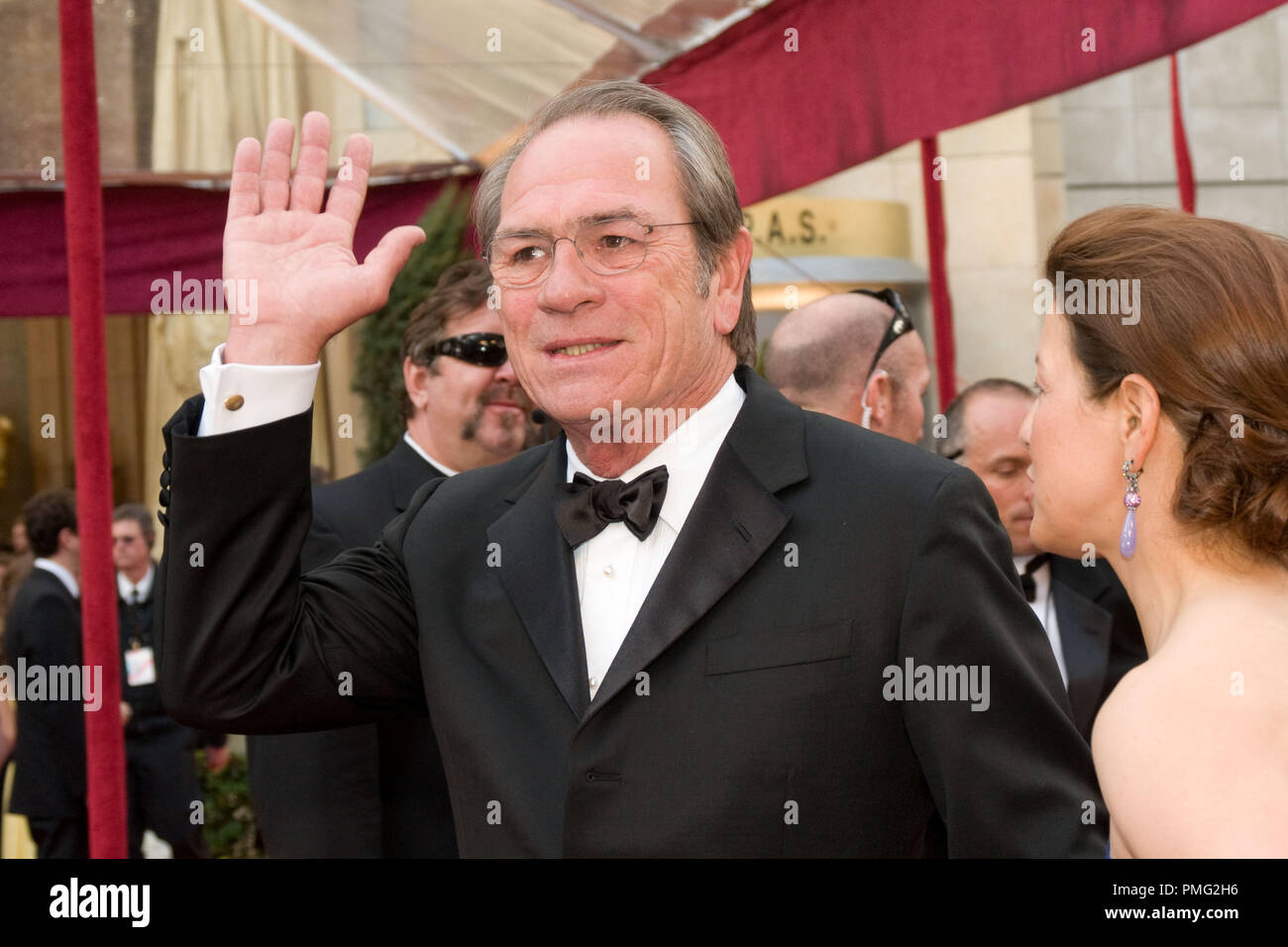 The Academy of Motion Picture Arts and Sciences Presents 'Academy Awards - 80th Annual' Tommy Lee Jones 2-24-08    File Reference # 30000_032  For Editorial Use Only -  All Rights Reserved - Stock Image