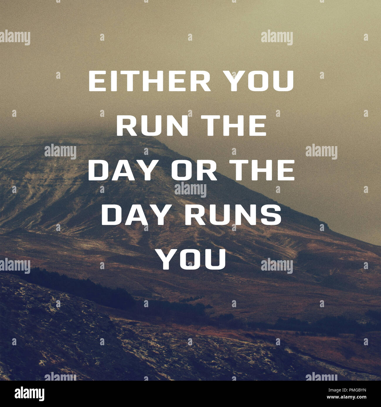 Inspirational Quotes Either You Run The Day Or The Day