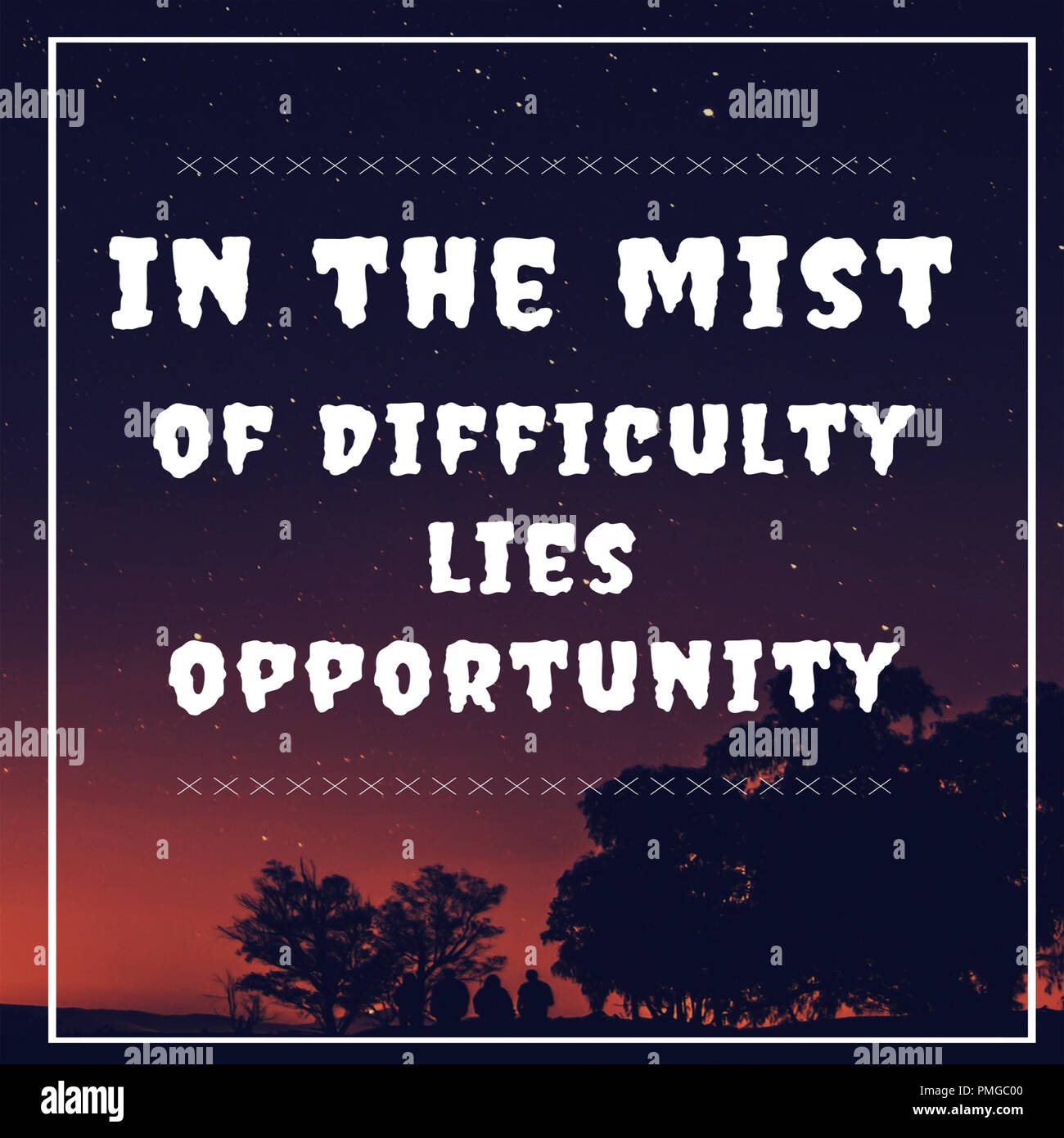 Inspirational Quotes In The Mist Of Difficulty Lies Opportunity