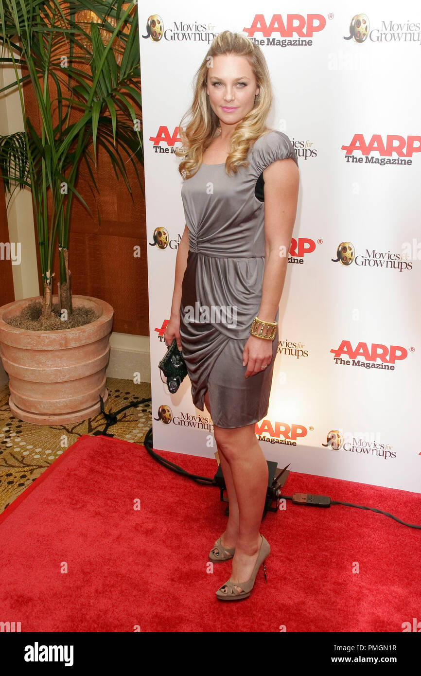 Elisabeth Rohm at the 9th Annual Movies for Grownups Awards. Arrivals held at the Beverly Wilshire Hotel in Beverly Hills, CA February 16, 2010. Photo by PictureLux File Reference # 30131_032PLX   For Editorial Use Only -  All Rights Reserved - Stock Image