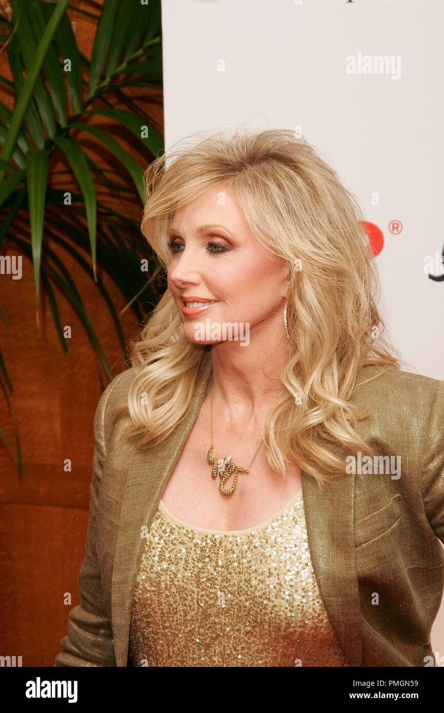 Morgan Fairchild at the 9th Annual Movies for Grownups Awards. Arrivals held at the Beverly Wilshire Hotel in Beverly Hills, CA February 16, 2010. Photo by PictureLux File Reference # 30131_065PLX   For Editorial Use Only -  All Rights Reserved - Stock Image