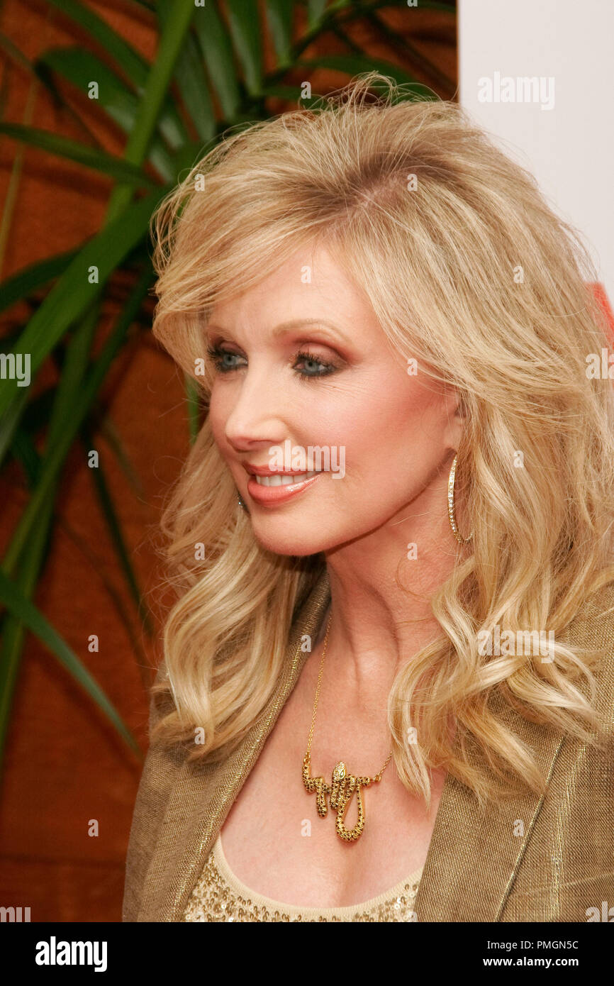 Morgan Fairchild at the 9th Annual Movies for Grownups Awards. Arrivals held at the Beverly Wilshire Hotel in Beverly Hills, CA February 16, 2010. Photo by PictureLux File Reference # 30131_066PLX   For Editorial Use Only -  All Rights Reserved - Stock Image