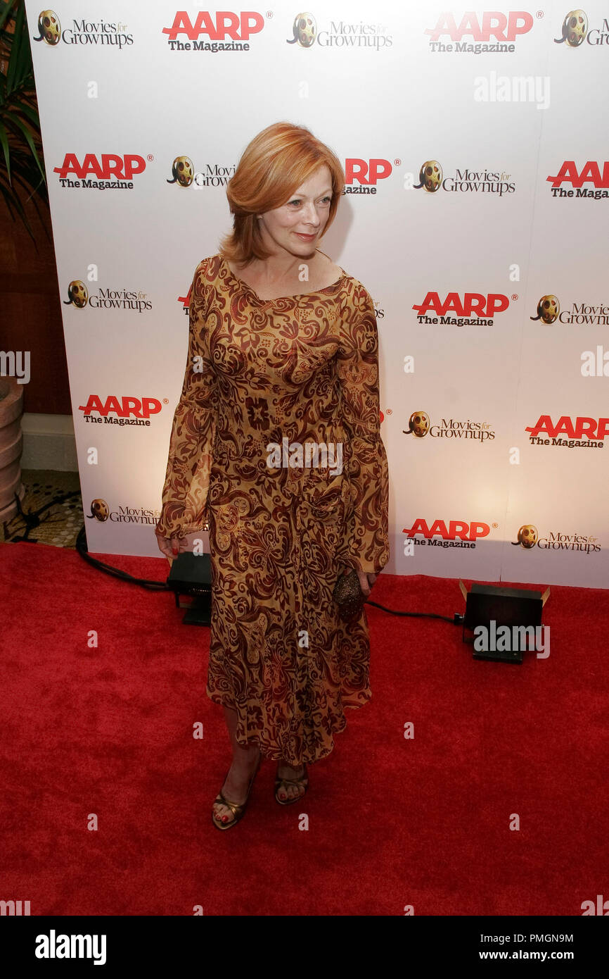 Frances Fisher at the 9th Annual Movies for Grownups Awards. Arrivals held at the Beverly Wilshire Hotel in Beverly Hills, CA February 16, 2010. Photo by PictureLux File Reference # 30131_100PLX   For Editorial Use Only -  All Rights Reserved - Stock Image