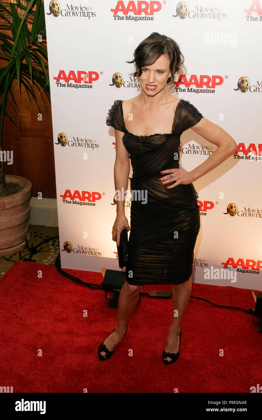 Juliette Lewis at the 9th Annual Movies for Grownups Awards. Arrivals held at the Beverly Wilshire Hotel in Beverly Hills, CA February 16, 2010. Photo by PictureLux File Reference # 30131_109PLX   For Editorial Use Only -  All Rights Reserved - Stock Image
