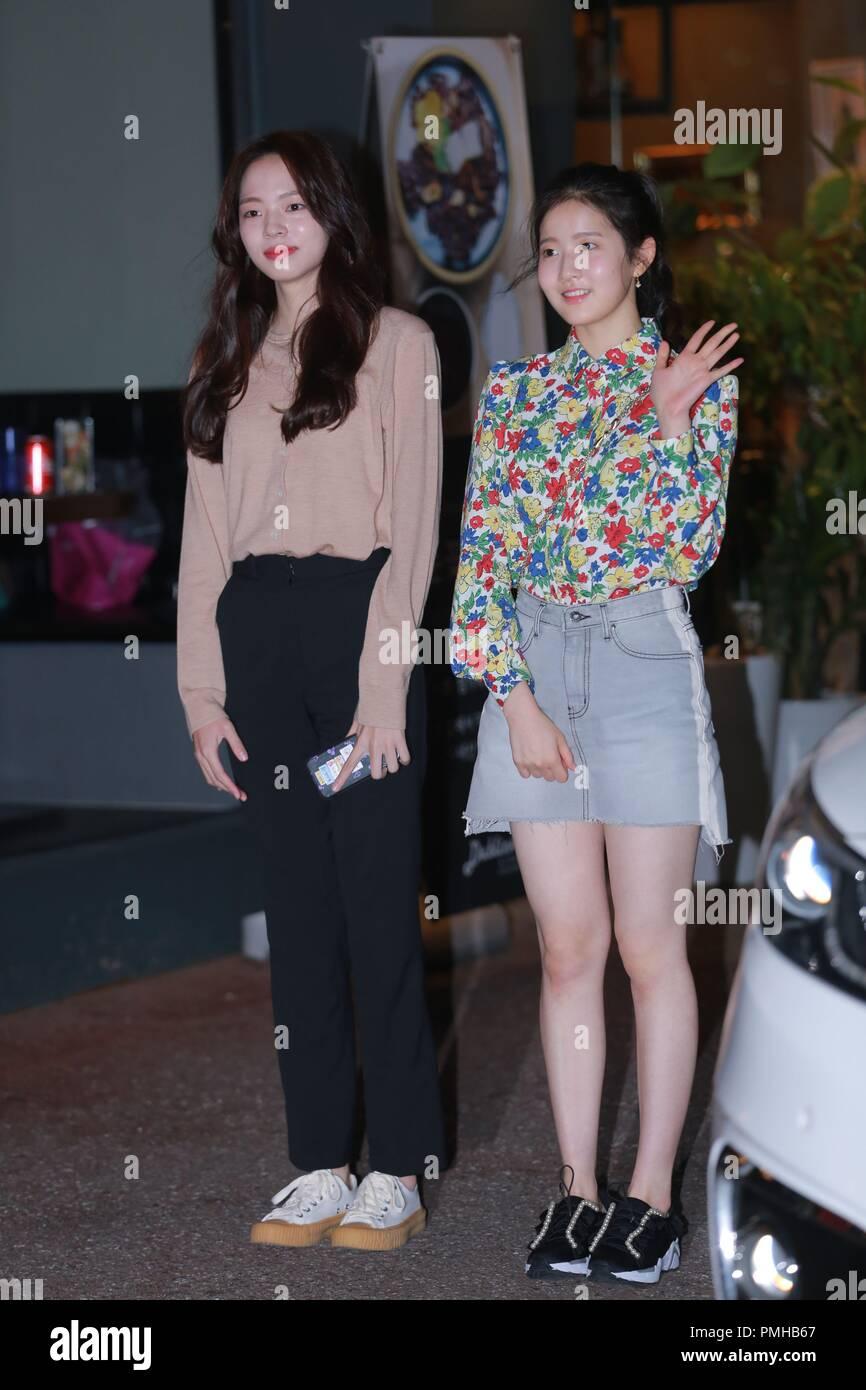 Seoul, Korea  18th Sep, 2018  Yang Se Jong and Shin Hye-sun etc
