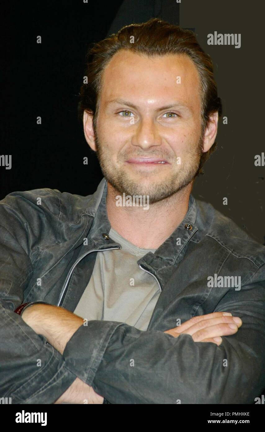 London. Christian Slater is to star in the theatre production of 'One Flew Over the Cuckoo's Nest', which will be staged first in  Edinburgh and then in London. 8 July 2004 Ref:LMK5-21-090704 ©Axel/Landmark/MediaPunch - Stock Image