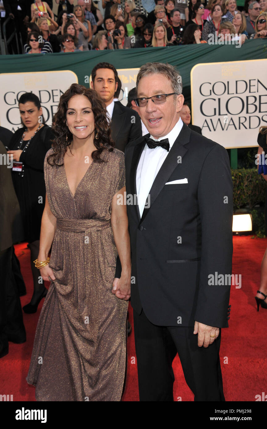 Tim Allen at the 68th Annual Golden Globe Awards at the Beverly Hilton Hotel. January 16, 2011  Beverly Hills, CA Photo by JRC / PictureLux  File Reference # 30825_091  For Editorial Use Only -  All Rights Reserved - Stock Image