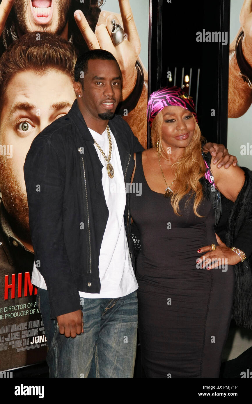 Sean Combs With Mother Stock Photos & Sean Combs With Mother