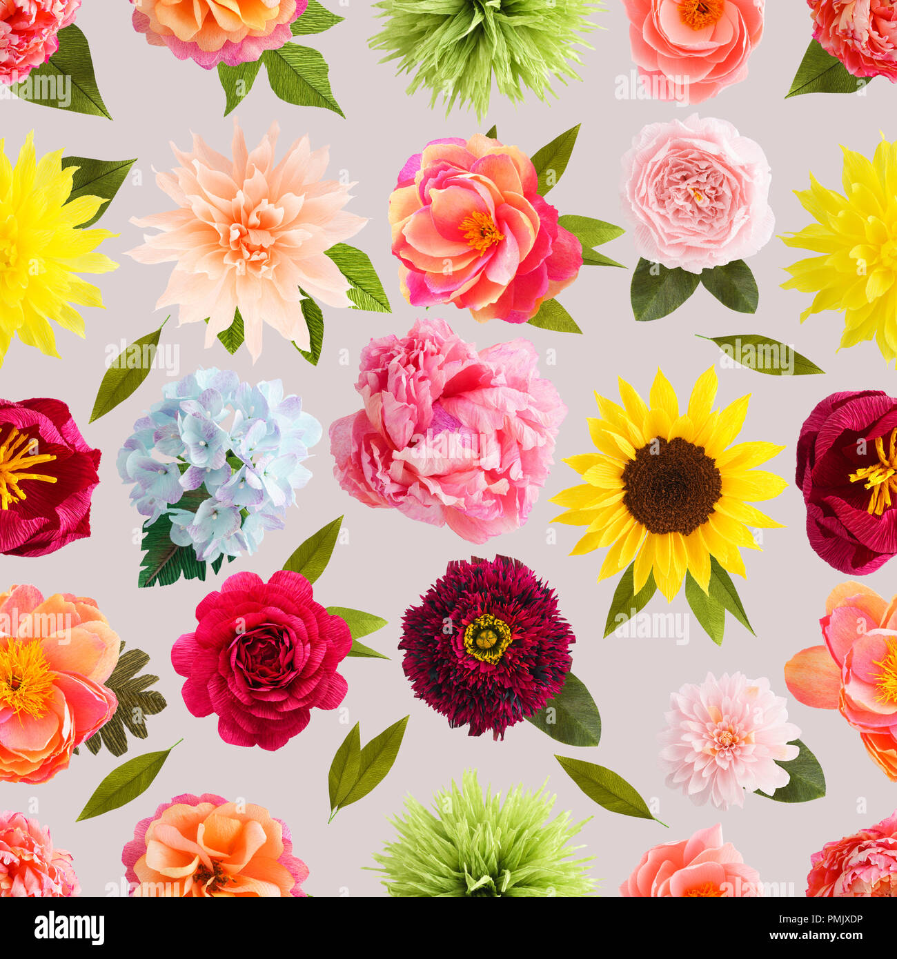 Crepe Paper Flowers Stock Photos Crepe Paper Flowers Stock Images