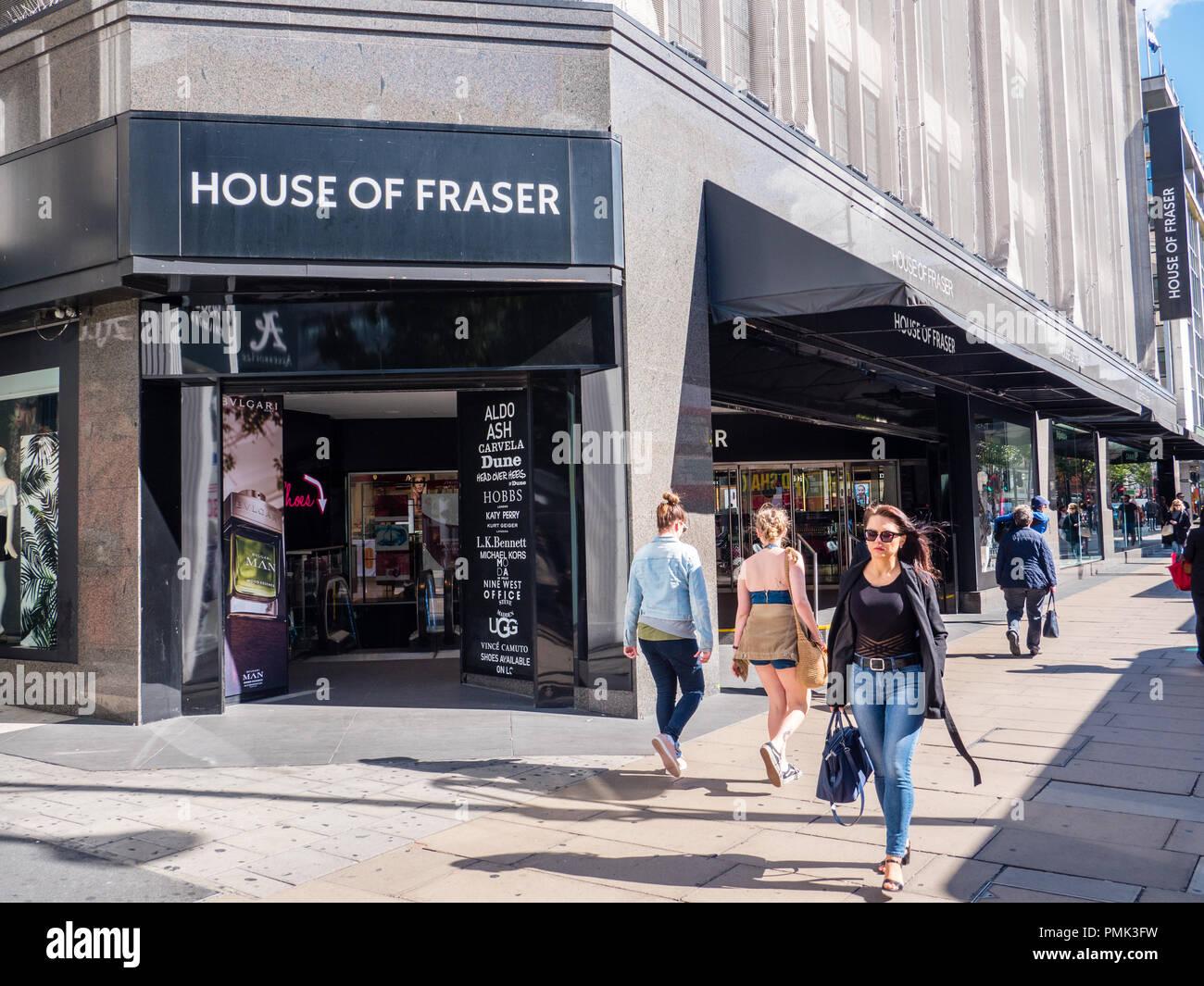 b6bd81ec6e3 House Of Fraser Department Store Stock Photos   House Of Fraser ...