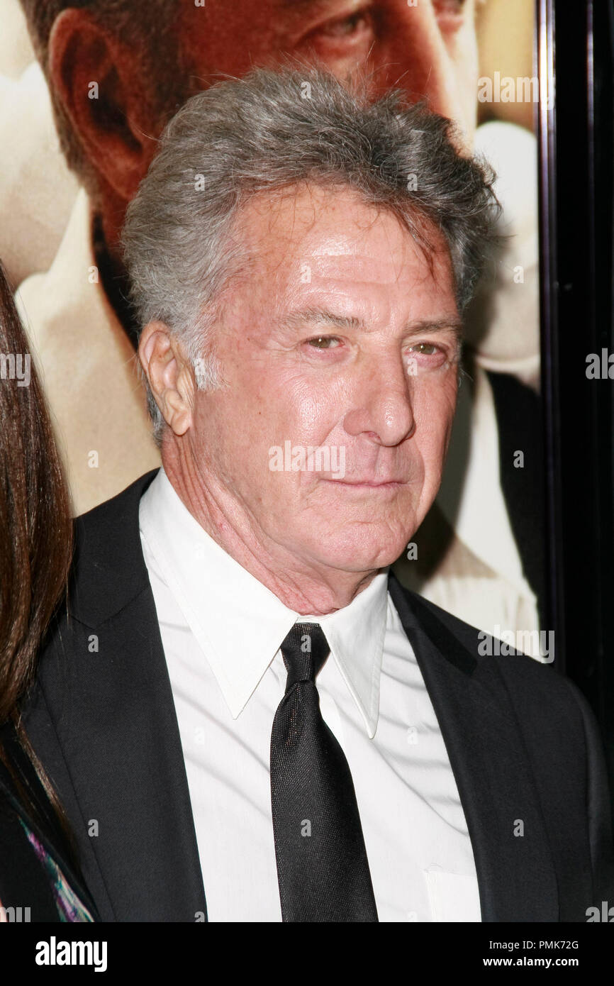 Dustin Hoffman at the AFI Fest 2010 Screening of Barney's Version. Arrivals held at The Egyptian Theatre in Hollywood, CA, November 6, 2010.  Photo by Joseph Martinez / PictureLux File Reference # 30672_034PLX   For Editorial Use Only -  All Rights Reserved - Stock Image