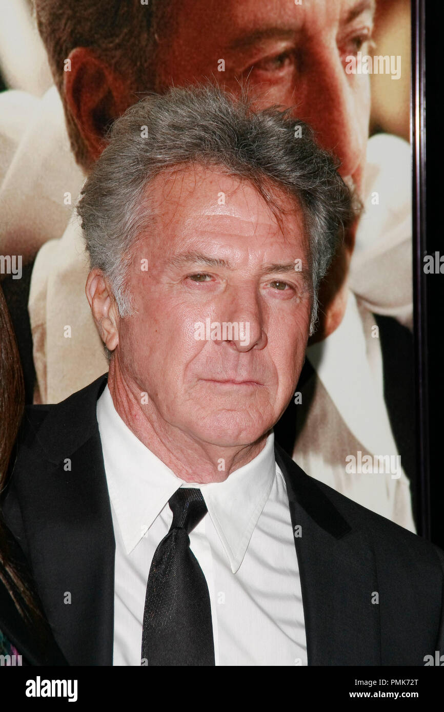 Dustin Hoffman at the AFI Fest 2010 Screening of Barney's Version. Arrivals held at The Egyptian Theatre in Hollywood, CA, November 6, 2010.  Photo by Joseph Martinez / PictureLux File Reference # 30672_035PLX   For Editorial Use Only -  All Rights Reserved - Stock Image