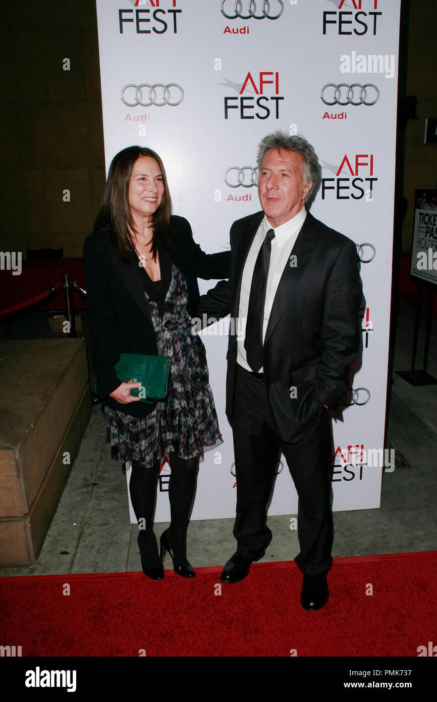 Dustin Hoffman at the AFI Fest 2010 Screening of Barney's Version. Arrivals held at The Egyptian Theatre in Hollywood, CA, November 6, 2010.  Photo by Joseph Martinez / PictureLux File Reference # 30672_036PLX   For Editorial Use Only -  All Rights Reserved - Stock Image