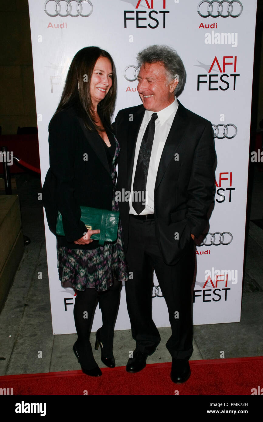 Dustin Hoffman at the AFI Fest 2010 Screening of Barney's Version. Arrivals held at The Egyptian Theatre in Hollywood, CA, November 6, 2010.  Photo by Joseph Martinez / PictureLux File Reference # 30672_037PLX   For Editorial Use Only -  All Rights Reserved - Stock Image