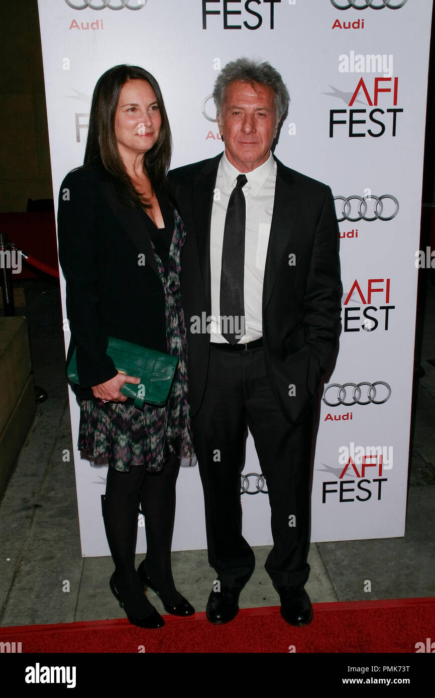 Dustin Hoffman at the AFI Fest 2010 Screening of Barney's Version. Arrivals held at The Egyptian Theatre in Hollywood, CA, November 6, 2010.  Photo by Joseph Martinez / PictureLux File Reference # 30672_038PLX   For Editorial Use Only -  All Rights Reserved - Stock Image