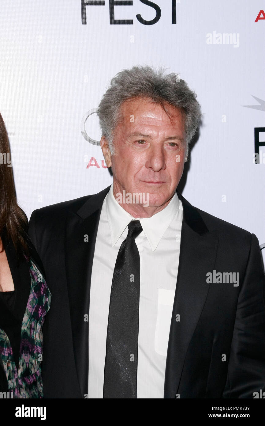 Dustin Hoffman at the AFI Fest 2010 Screening of Barney's Version. Arrivals held at The Egyptian Theatre in Hollywood, CA, November 6, 2010.  Photo by Joseph Martinez / PictureLux File Reference # 30672_039PLX   For Editorial Use Only -  All Rights Reserved - Stock Image