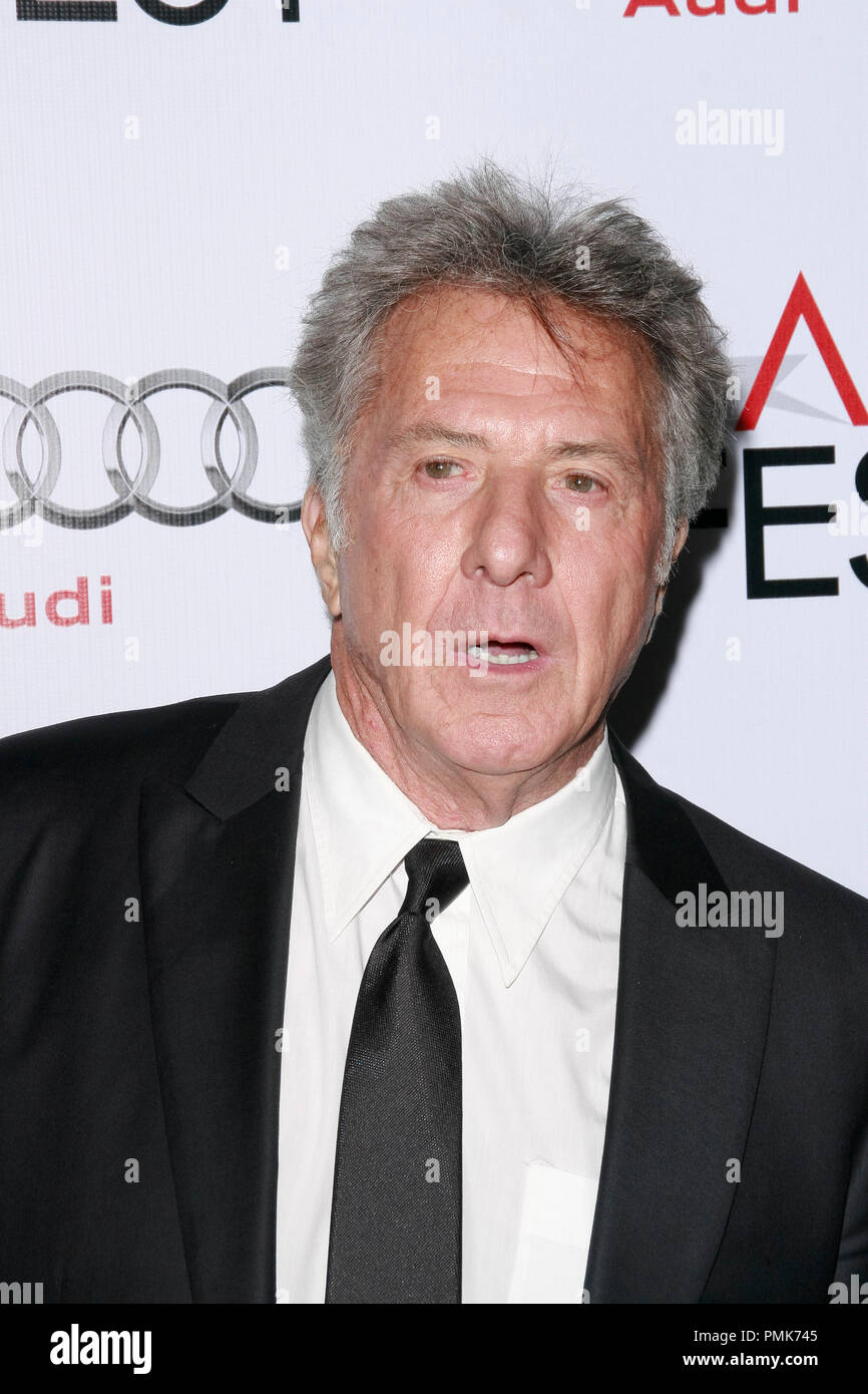Dustin Hoffman at the AFI Fest 2010 Screening of Barney's Version. Arrivals held at The Egyptian Theatre in Hollywood, CA, November 6, 2010.  Photo by Joseph Martinez / PictureLux File Reference # 30672_040PLX   For Editorial Use Only -  All Rights Reserved - Stock Image