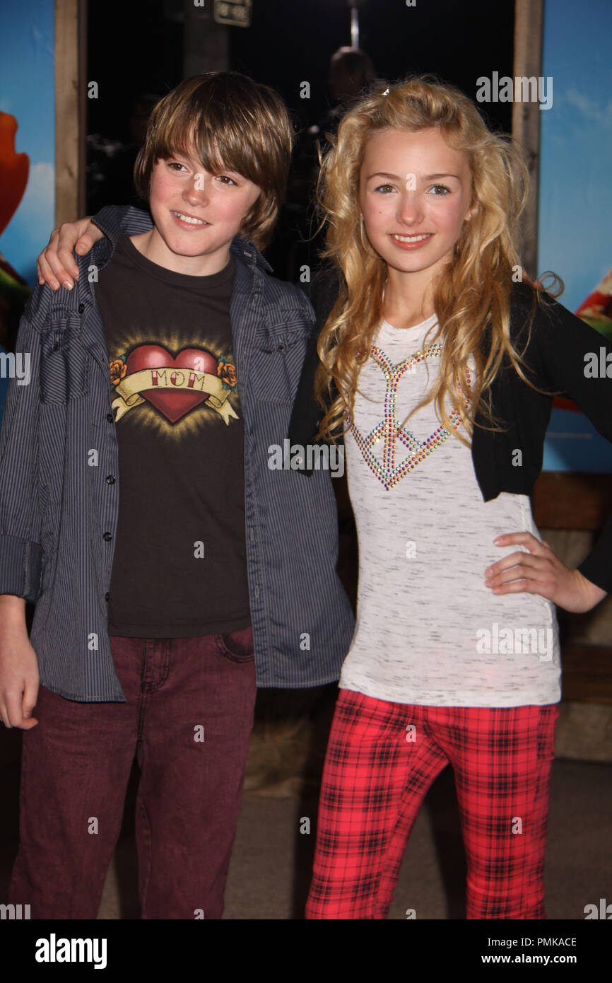 spencer and peyton list stock photos spencer and peyton list stock