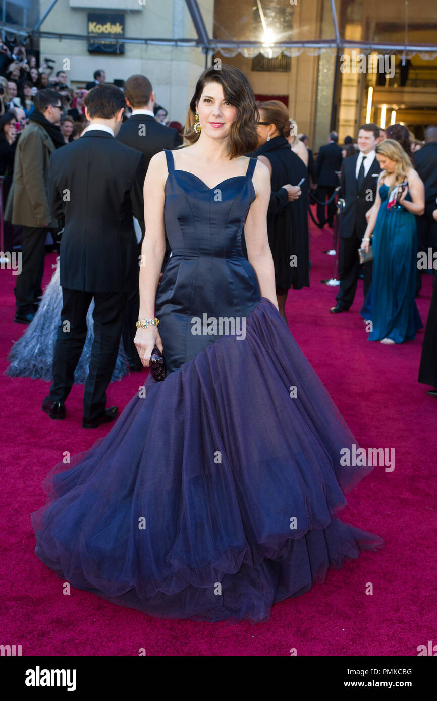 Marisa Tomei arrives for the 83rd Annual Academy Awards at the Kodak Theatre in Hollywood, CA February 27, 2011.  File Reference # 30871_177  For Editorial Use Only -  All Rights Reserved - Stock Image
